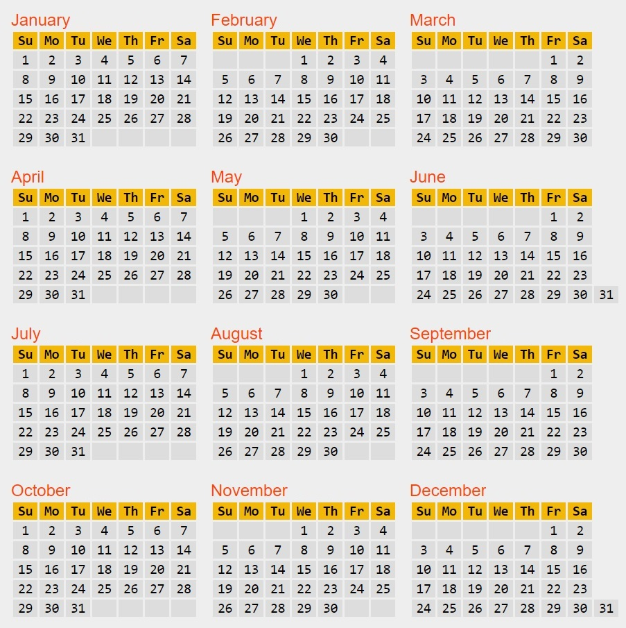 World Calendar.Calendar Reform Needed