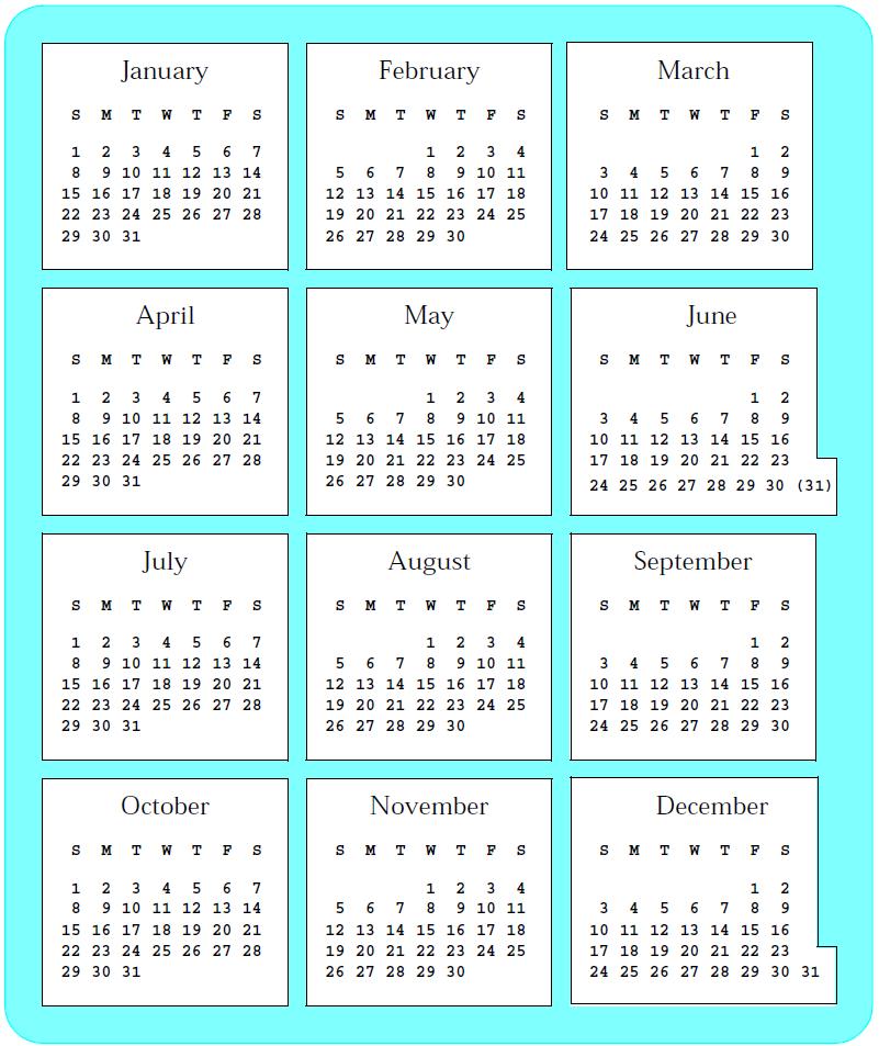 Calendar reform